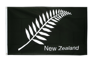 New Zealand feather all blacks 2x3 ft Flag