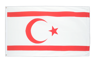 North Cyprus - 2x3 ft Flag