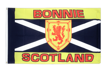 Scotland Bonnie Scotland - 2x3 ft Flag