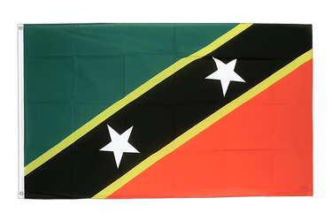 Saint Kitts and Nevis - 2x3 ft Flag