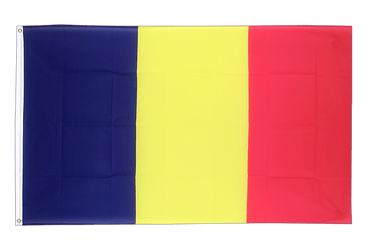 Chad 2x3 ft Flag