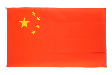 Grand drapeau Chine 150 x 250 cm