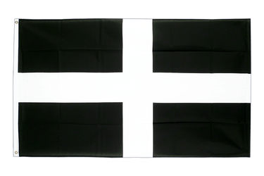 St. Piran Cornwall 5x8 ft Flag