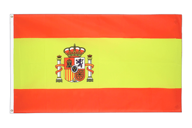 Spain with crest 5x8 ft Flag