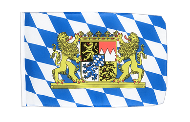 Bavaria lion 12x18 in Flag