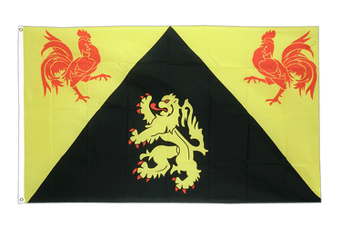Walloon Brabant 3x5 ft Flag