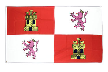 Castile and León - 3x5 ft Flag