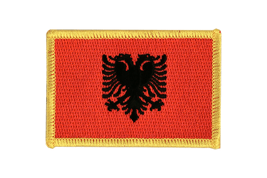 Albania Flag Patch