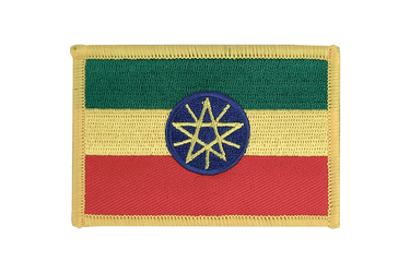 Ethiopia with star - Flag Patch