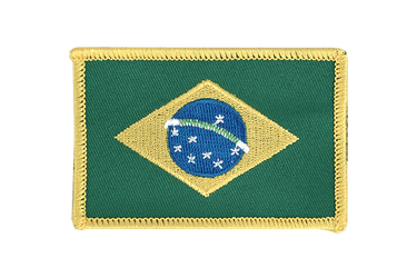 Brazil Flag Patch