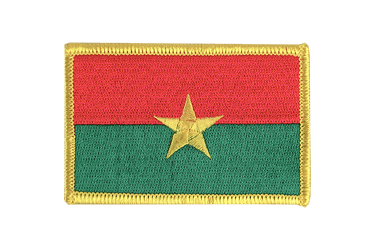 Burkina Faso Flag Patch