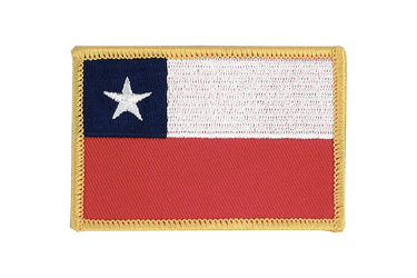 Chile Flag Patch