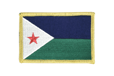 Djibouti - Flag Patch