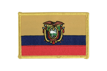 Ecuador Flag Patch