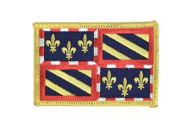 Burgundy Flag Patch