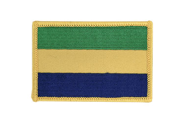 Gabon Flag Patch