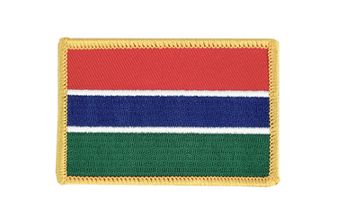 Gambia Flag Patch