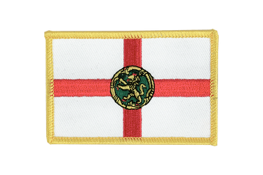 Alderney Flag Patch