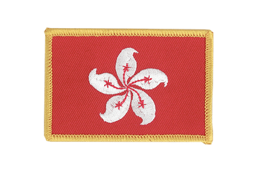 Hong Kong Flag Patch