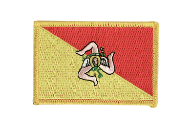 Italy Sicily - Flag Patch