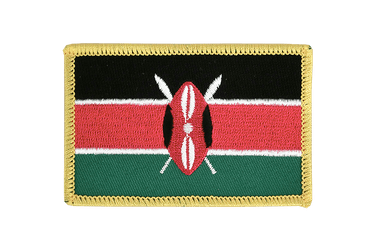 Kenya Flag Patch