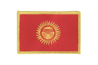 Kyrgyzstan - Flag Patch