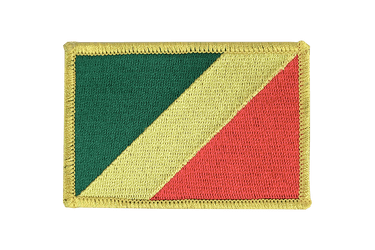 Congo Flag Patch