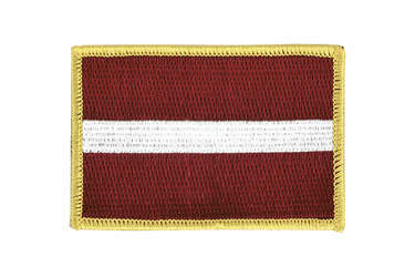 Latvia - Flag Patch