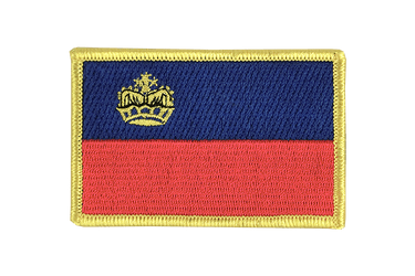 Liechtenstein Flag Patch