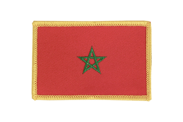 Morocco Flag Patch