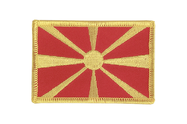 Macedonia Flag Patch