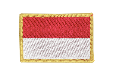 Monaco Flag Patch