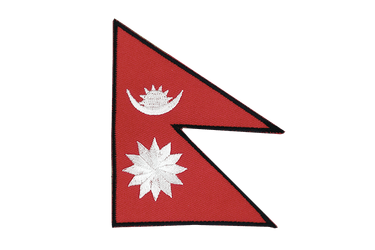 Nepal - Flag Patch