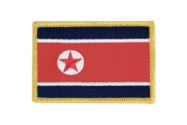 North corea Flag Patch