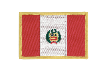 Peru Flag Patch
