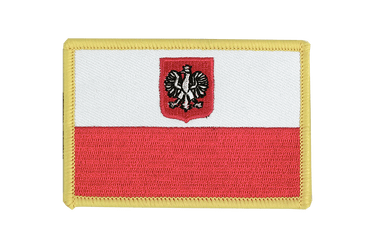 Poland with eagle Flag Patch