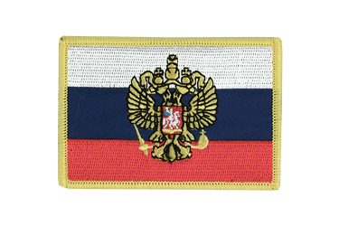 Russia with crest Flag Patch