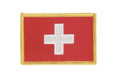 Switzerland Flag Patch