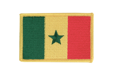 Senegal Flag Patch