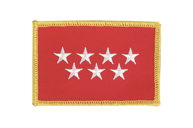 Madrid Flag Patch
