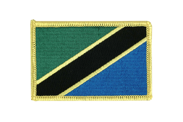 Tanzania Flag Patch