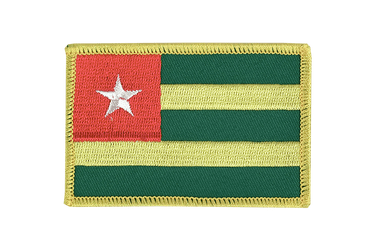 Togo Flag Patch