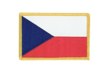Czech Republic Flag Patch