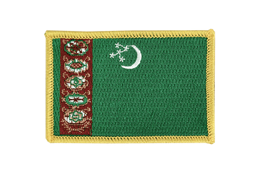 Turkmenistan Flag Patch