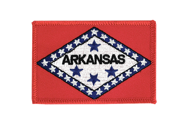 Arkansas Flag Patch