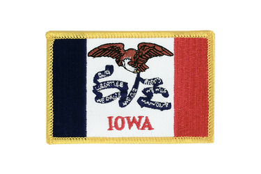 Iowa Flag Patch