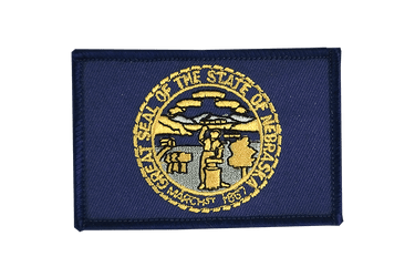 Nebraska Flag Patch