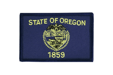 Oregon Flag Patch