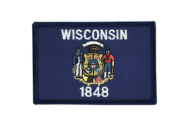 Wisconsin - Flag Patch