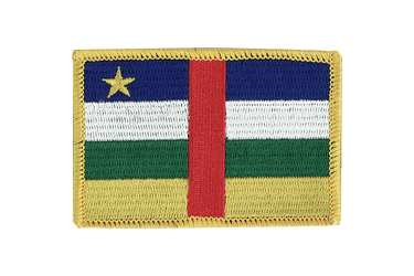 Central African Republic - Flag Patch